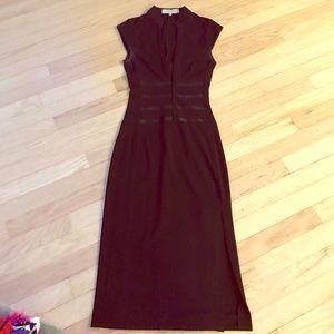 Karen Millen Black Asian inspired dress