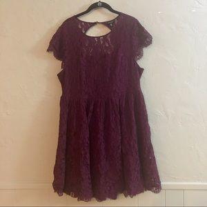Size 16 Torrid Lace Dress