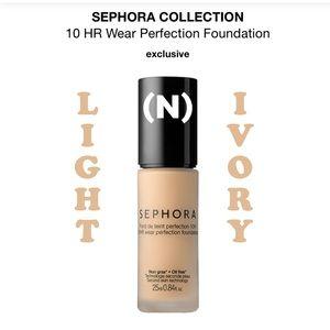 SEPHORA 10 HR WEAR PERFECTION FOUNDATION ~ #10