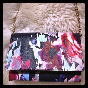 Kate Spade brush stroke cross body purse