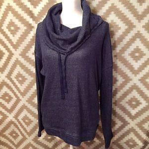 Lauren Ralph Lauren Pullover Cowl Neck Sweatshirt!
