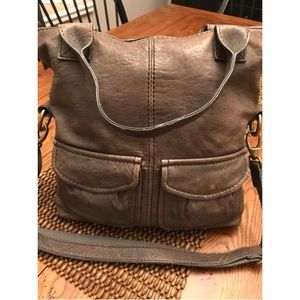 Fossil Pre-owned 100% Beautiful Leather Crossbody