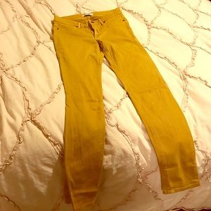 Rich & skinny yellow jeans size 27