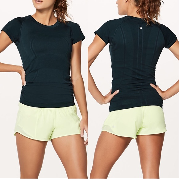 lululemon athletica Tops - 6 Lululemon SWIFTLY TECH S/S CREW Tee SUBMARINE