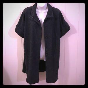 Zara blazer jacket with pockets medium