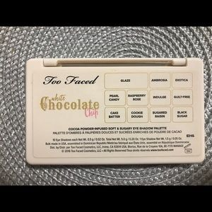 Too Faced Mini White Chocolate Chip Palette