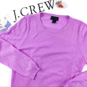 J Crew Italian Cashmere Crew Neck Sweater