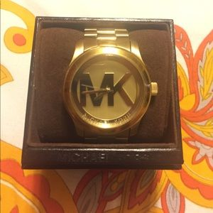 Michael Kors Gold Watch w/ original box