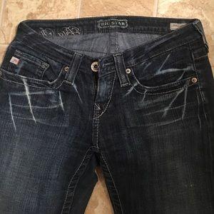 Big Star Sweet Low Bootcut Jeans