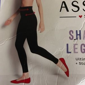 Spanx Black shaping leggings