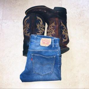 🍁🆕 Levi's 511 Knit Straight Leg Jeans
