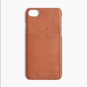 Madewell Leather iPhone Case