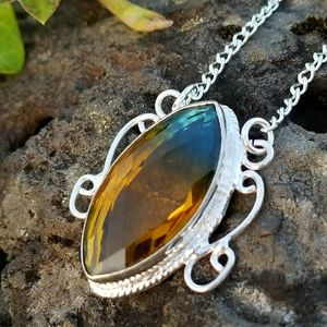 NEW! Multi-colored tourmaline necklace
