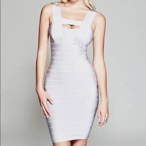 Kendall Silver Bandage Dress