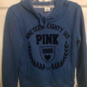 Really cute blue Victoria's Secret Pink hoodie!