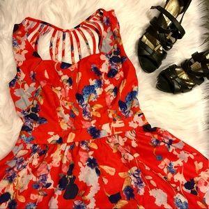 NWT Tea & Cup printed dress