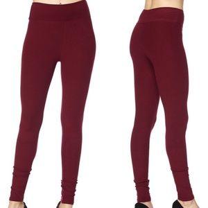 Pants - Coming soon!!! Burgundy leggings