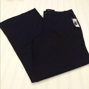 GAP Sz 10short, black wide leg pants