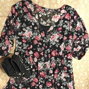 🌹BEAUTIFUL 🌹 Torrid floral dress size 3