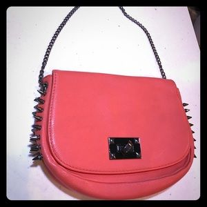 Clutch purse (salmon color)