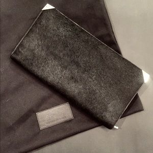 Alexander Wang Prisma Giant Pony Hair Clutch