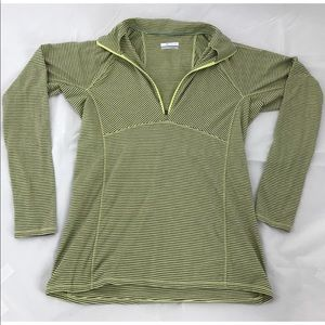 Columbia Long Sleeve Top Hooded Pullover Athletic