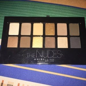 Maybelline the Nudes Eyeshadows
