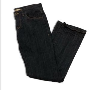 Cabi Jeans Straight Leg Brando Dark Wash Denim 175