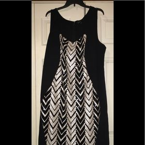 Lane Bryant Size 28 Sequin Dress