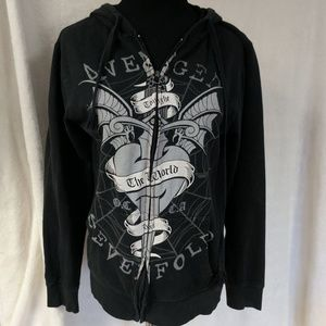 Bravado avenged sevenfold zip up hoodie