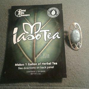 Turquoise ring and Free 1 week Iaso Detox Tea