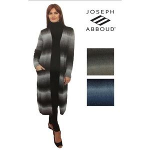 Joseph Abboud long cardigan sweater
