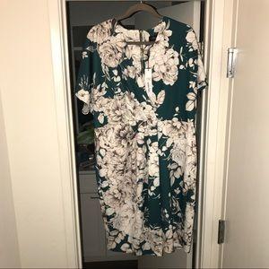 ASOS Closet Curve Wrap Dress