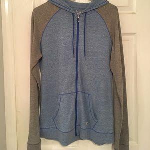 Women's Large under armor zip up hoodie