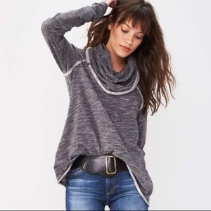 'Beach Cocoon' Cowl Neck Pullover FREE PEOPLE $68