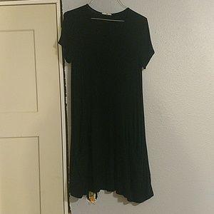 Black Soprano T-Shirt Dress