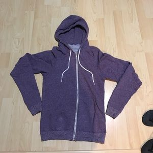 American Apparal Size XS Purple Hoodie