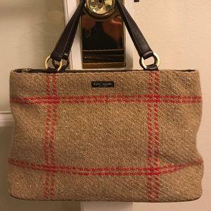 Kate Spade small wool Tote