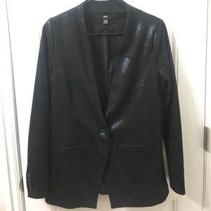 Semi Glossy Blazer Jacket