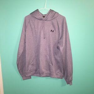 Grey Under Armour Sweatshirt Hoodie