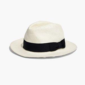MADEWELL NWOT Biltmore Panama hat