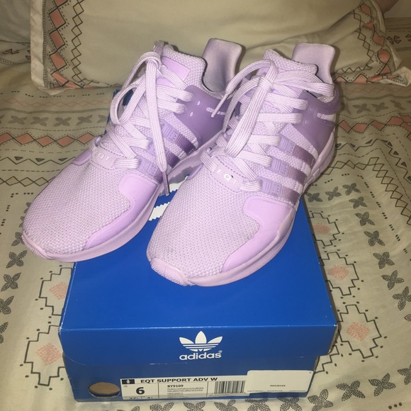 Lavender Adidas EQT Support