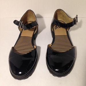 DV8 Patent Mary Janes - lightly used. Size 11