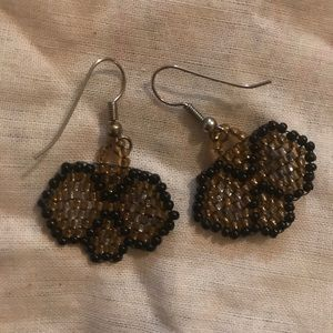 VTG BEADED EARRINGS