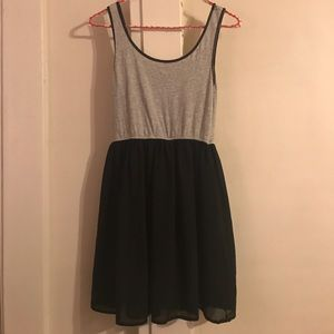 Forever 21, Grey & Black Skater Dress