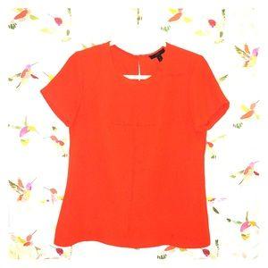 J. Crew Orange Shirt