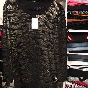 Isabel Marant NWT embroidered top