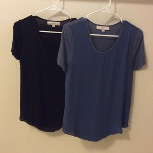LOFT T-shirt bundle-SIZE XS