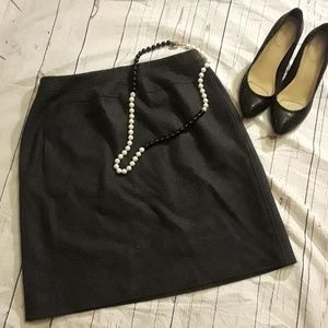 Have Bernard grey  wool skirt w/ pockets  size 12