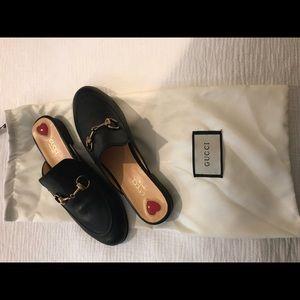 Princetown backless loafer/slipper